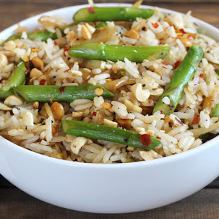 ASPARAGUS PEANUT FRIED RICE