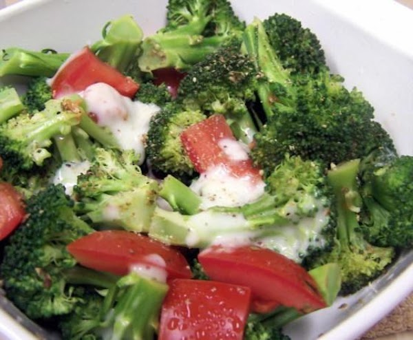 Italian Broccoli With Tomatoes Recipe