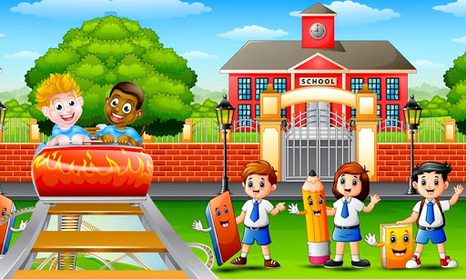 School Building Construction Site: Builder Game modavailable screenshots 3