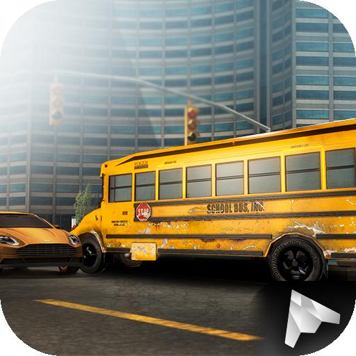 City School Bus Parking 3D