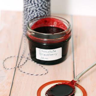 Chocolate Blackberry Preserves #SundaySupper.