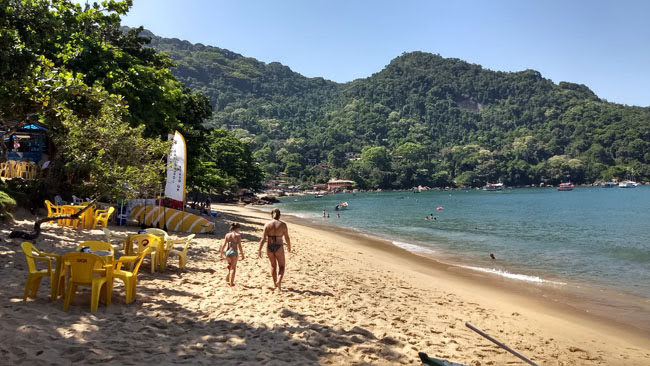 Praia de Picinguaba em Ubatuba