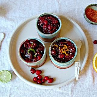 Cranberry Sauce Variations