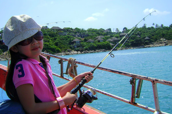Fishing fun for the youngsters