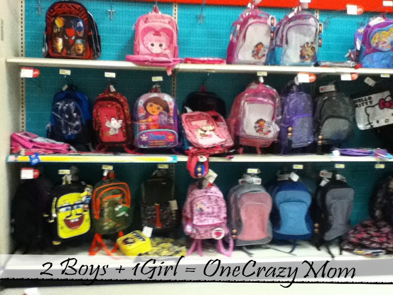 Photo: Too bad our school's won't allow back-bags, they are soo cute.... off to find the string bags that we need .....