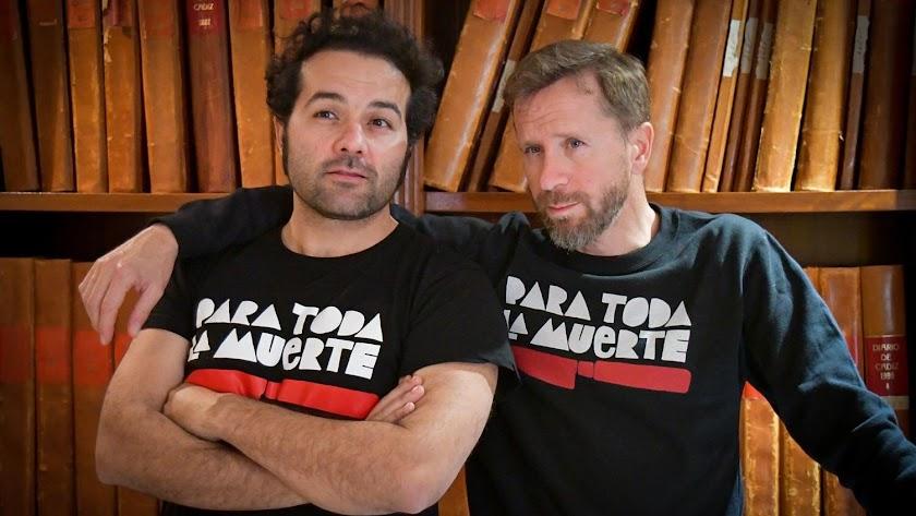 Alfonso Sánchez y Alberto López están de gira.