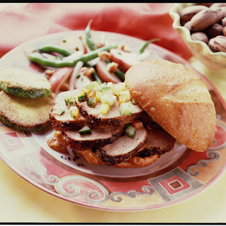 Spicy Pork Loin Sandwich with Chile Aioli Recipe
