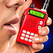 Portable police walkie-talkie