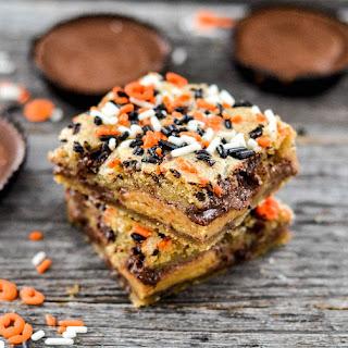 Candy Stuffed Cookie Bars Recipe
