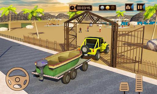 Camper Van Truck Simulator: Cruiser Car Trailer 3D 1.10 screenshots 5