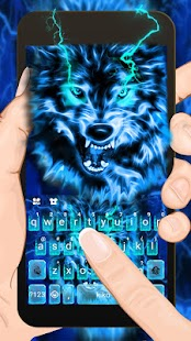 Lightning Wolf Keyboard Theme