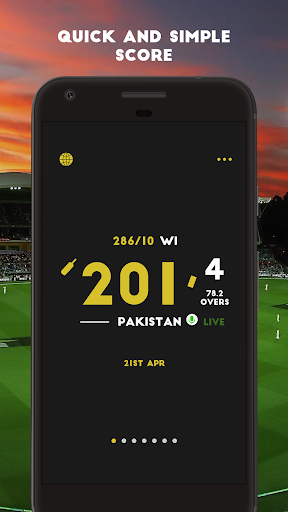 Cricket Live Scores & News  screenshots 1