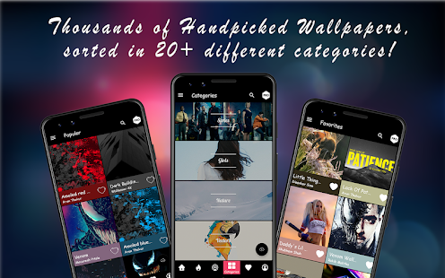 App WallPixel - 4K, HD AMOLED Wallpapers & Backgrounds APK for Windows Phone