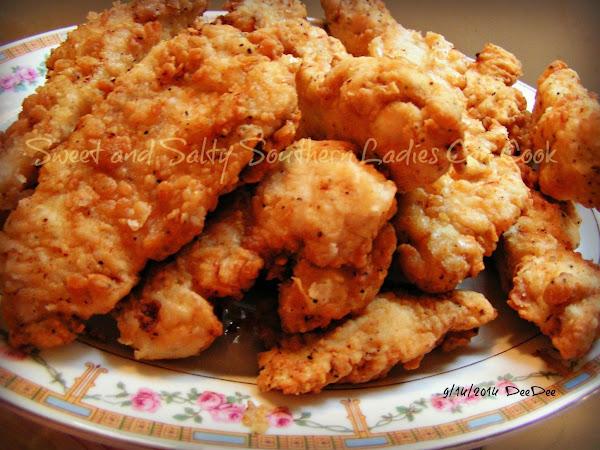Dee Dee's Southern Fried Buttermilk Chicken Recipe