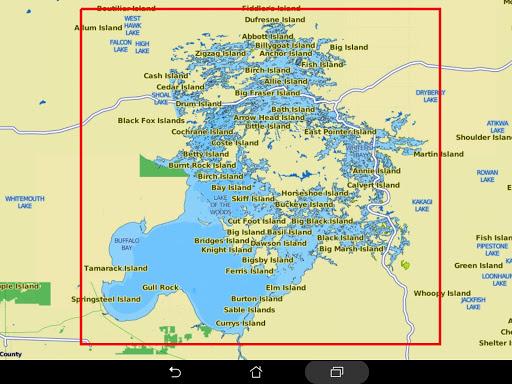 Lake of the Woods Offline GPS Charts screenshot 12