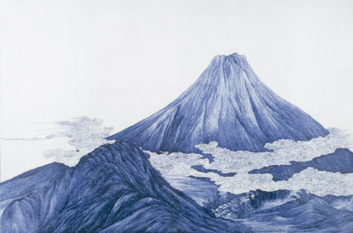 "Ornamental Panel ""Mount Fuji"""