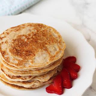 Paleo Egg-free Pancakes with Almond Flour.