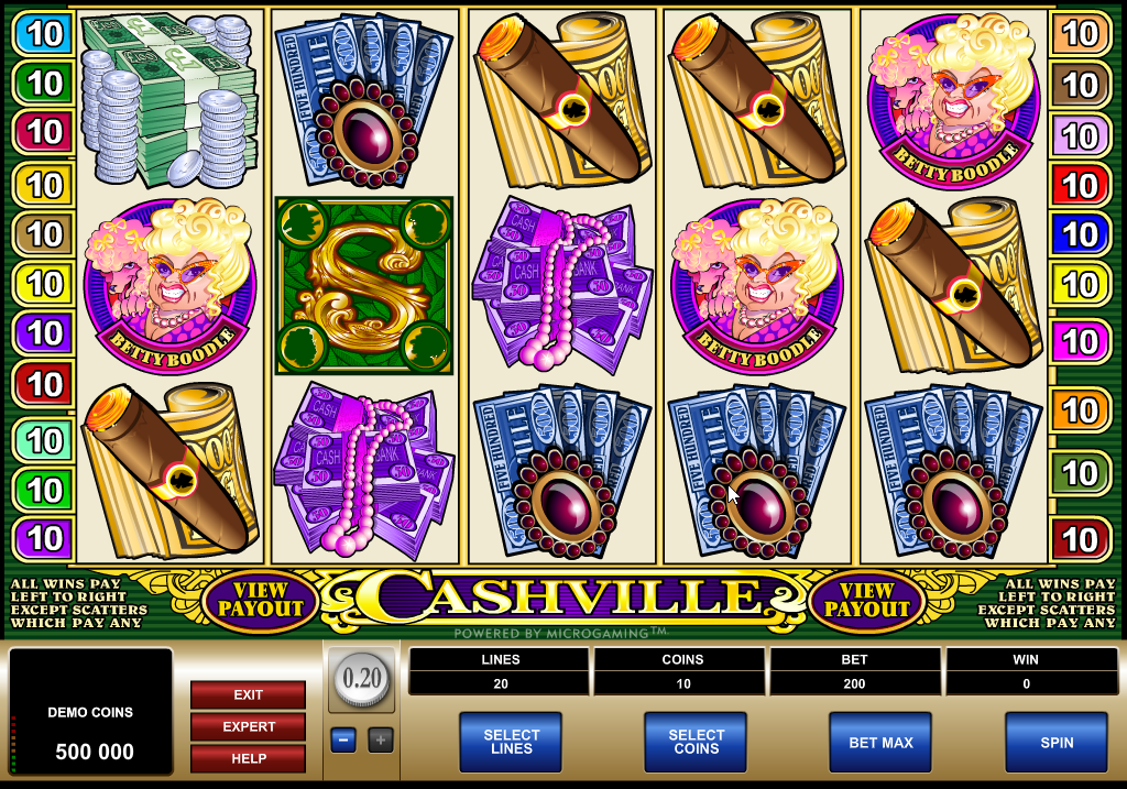 Cashville Slots Game Review