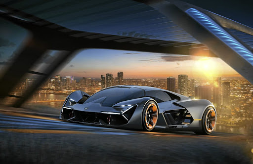 Lamborghini has partnered with MIT to create the Terzo Millenio electric design concept.