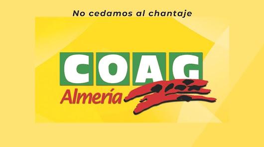 COAG Andalucía exige la paralización de los acuerdos comerciales con Marruecos