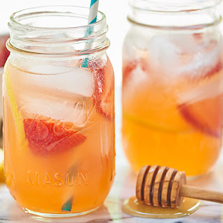 Honey Strawberry Lemonade