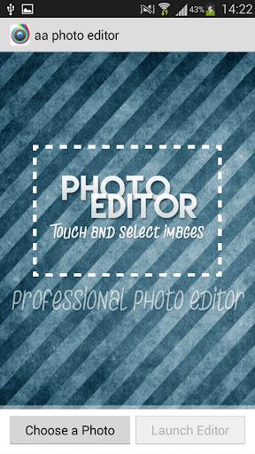 aa camera photo editor