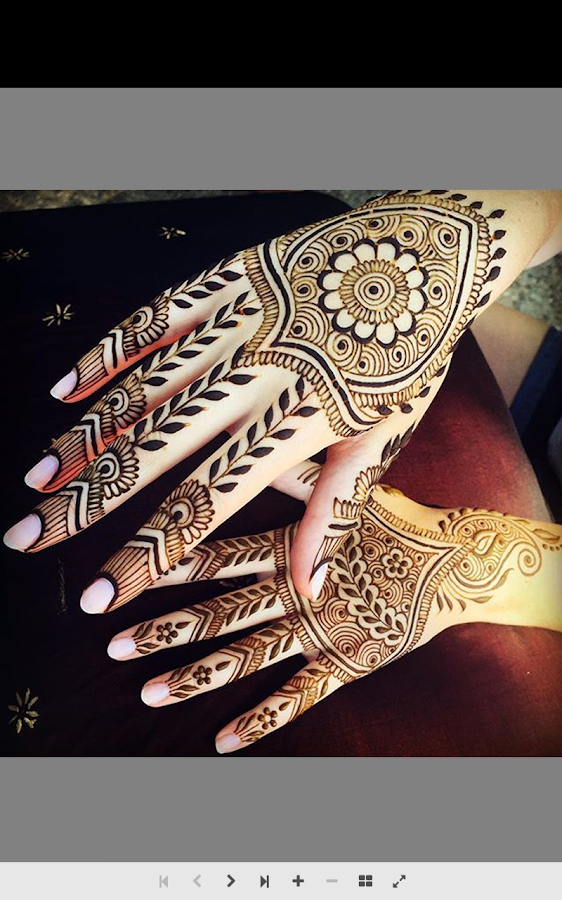 Mehndi Designs Tutorial : Henna tutorial step by android apps on google play