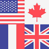 World Flags Flash Cards and Quiz