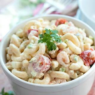 Shrimp Macaroni Salad.