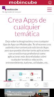 App Creator - náhled