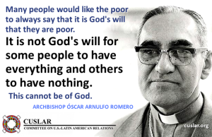 Romero poverty