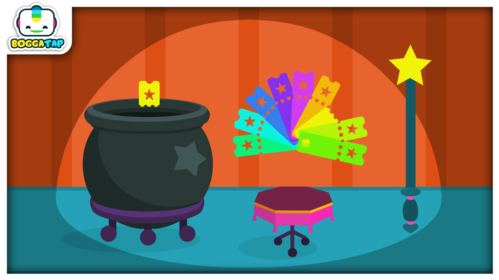 Bogga Magic Game for Toddlers- screenshot