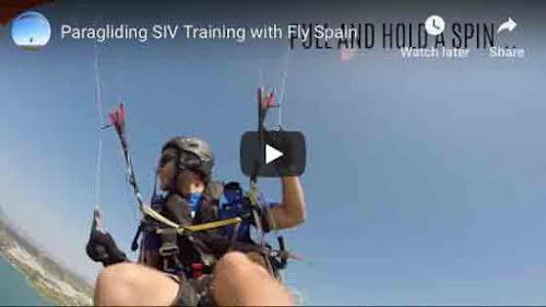 Paragliding SIV Training