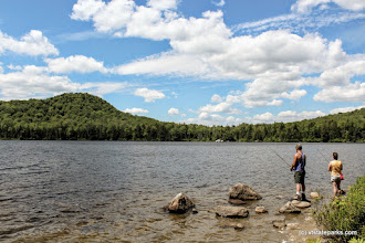Photo: Couple fishing at Kettle Pond State Park by David Green