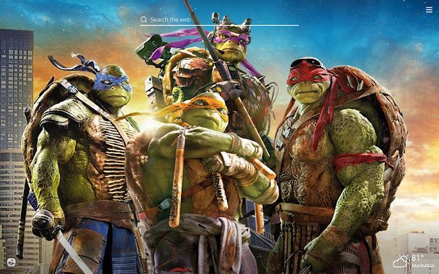 Ninja Turtles Hd Wallpapers New Tab Theme