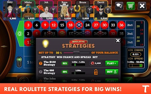 Roulette for Tango- screenshot thumbnail