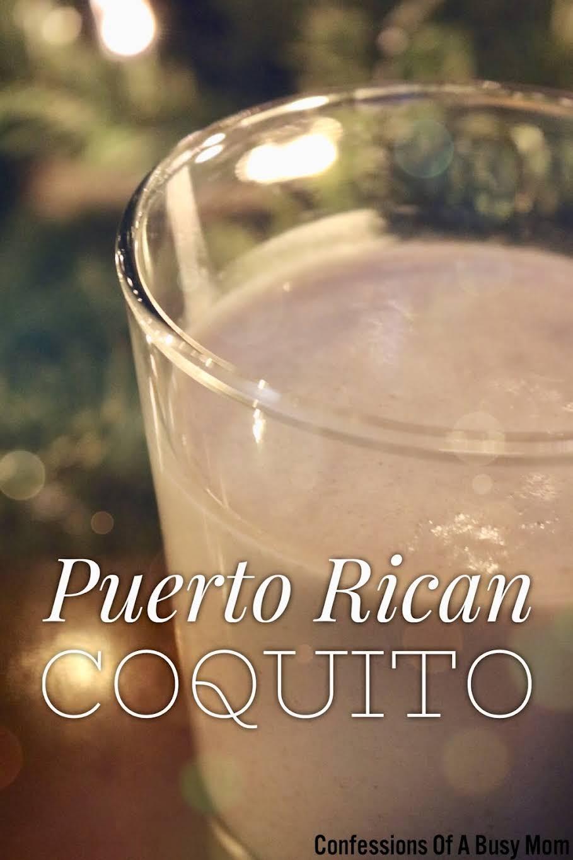Puerto Rican Coquito