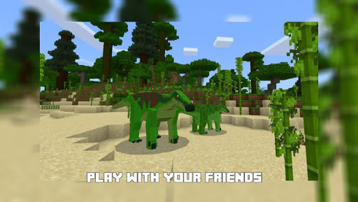 Jurassic Craft Mod 2020 screenshot 4