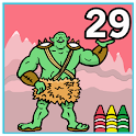 Coloring Book 29: Mythical icon
