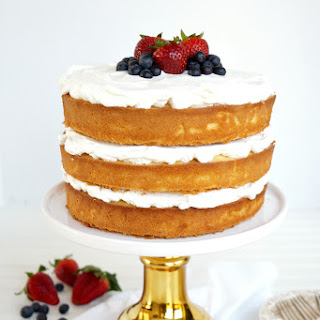 Layered Tres Leches Cake.