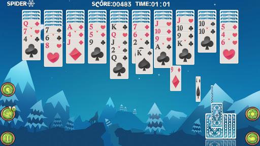 スパイダーソリティア:ポーカーゲーム