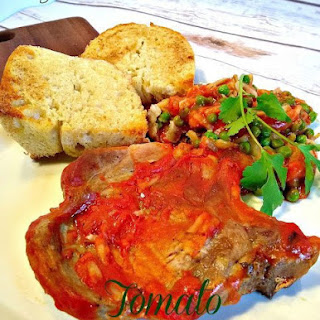 Tomato Pork Chop & Hash Brown Casserole Recipe