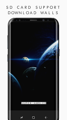 Pixel 3 Super AMOLED Wallpapers PRO (2960x1440) app for Android screenshot
