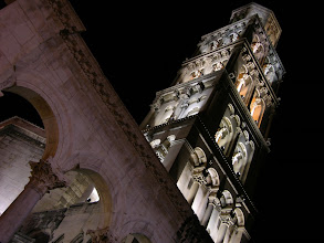 Photo: Bell tower of Split old town
