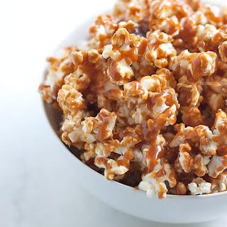 Homemade Salted Caramel Popcorn
