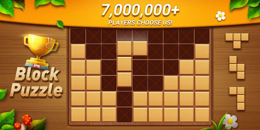 Wood Block Puzzle - Free Classic Block Puzzle Game filehippodl screenshot 1