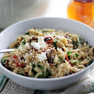 Fire Roasted Tomato Orzo Pasta.