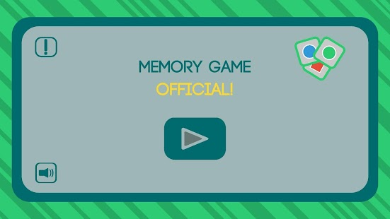 Memory Game - Official Screenshot
