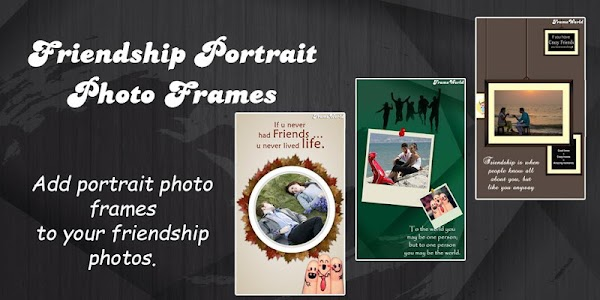 Friendship Photo Frame World screenshot 1