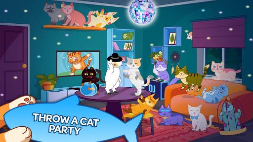 cat party: dance clicker screenshot 1